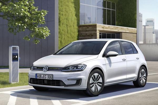 In detail: gefacelifte Volkswagen e-Golf