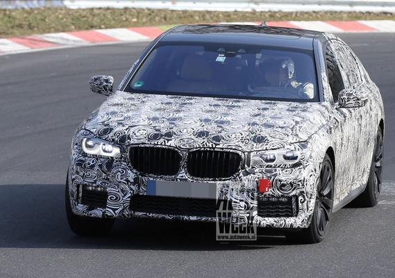 M Performance van nieuwe BMW 7-serie?