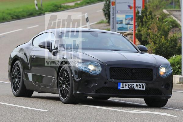 Nieuwe Bentley Continental GT gesnapt