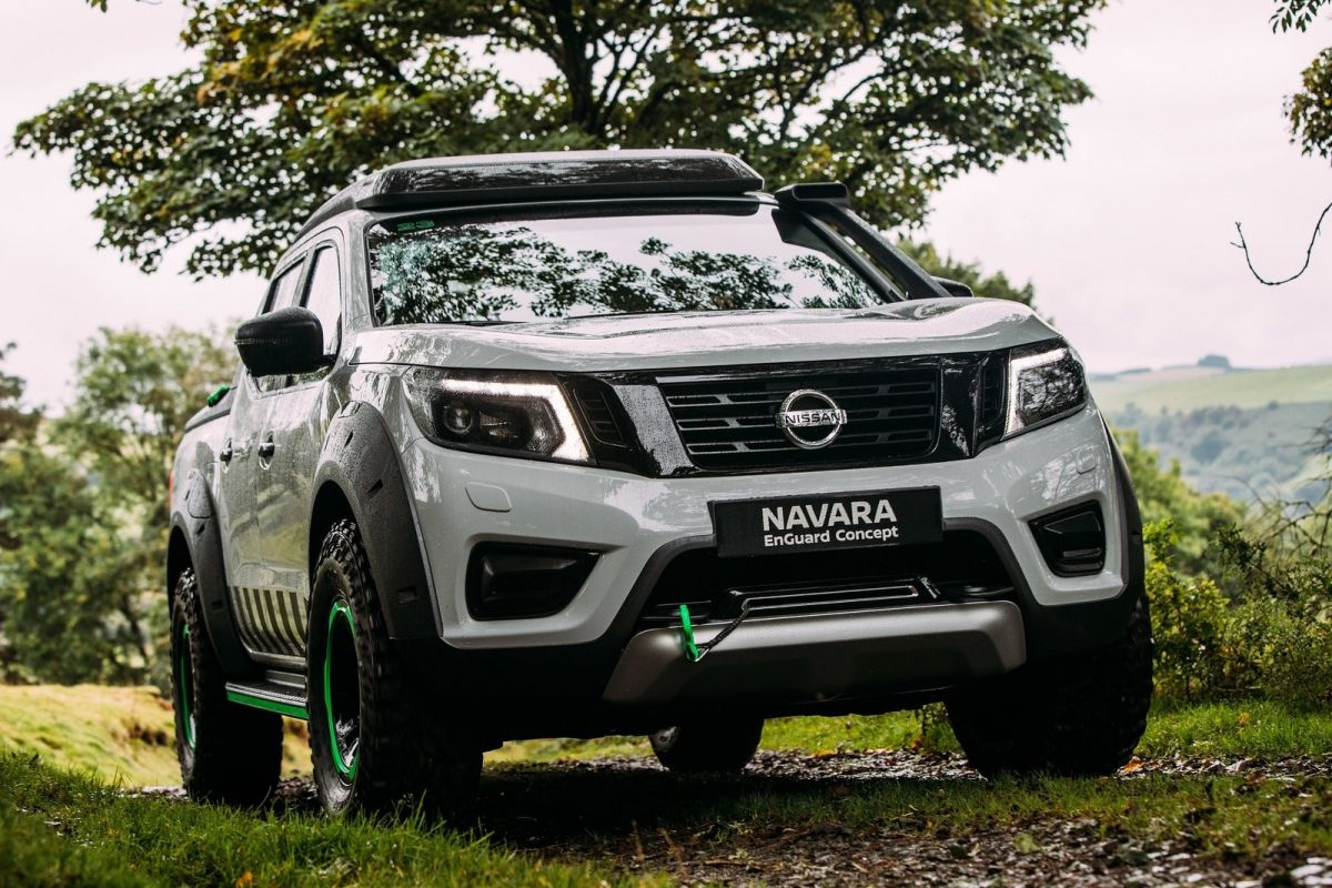 alleskunner nissan navara enguard concept autonieuws. Black Bedroom Furniture Sets. Home Design Ideas