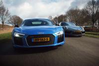 Dubbeltest: Audi R8 V10 Plus vs Porsche 911 Turbo S