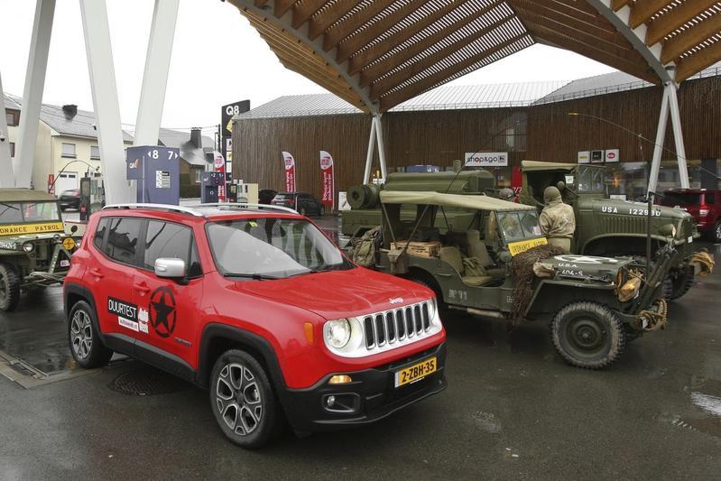 Verbruik jeep renegade benzine