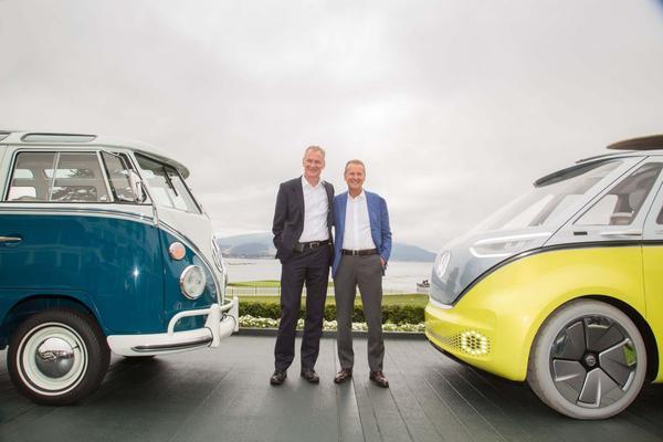 Officieel: elektrische Volkswagen 'Microbus' komt