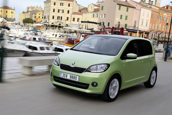 Minimale update voor Skoda Citigo