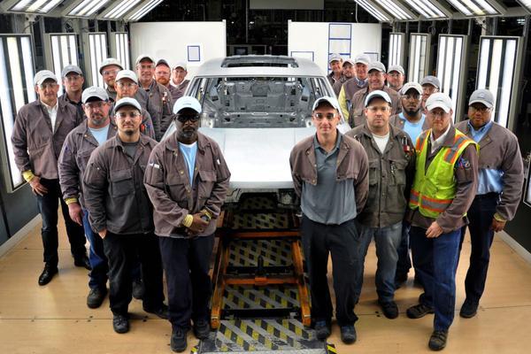 Volkswagen bouwt eerste koets nieuwe SUV