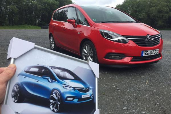 Gereden: Opel Zafira