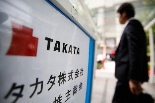 CEO Takata condoleert nabestaanden
