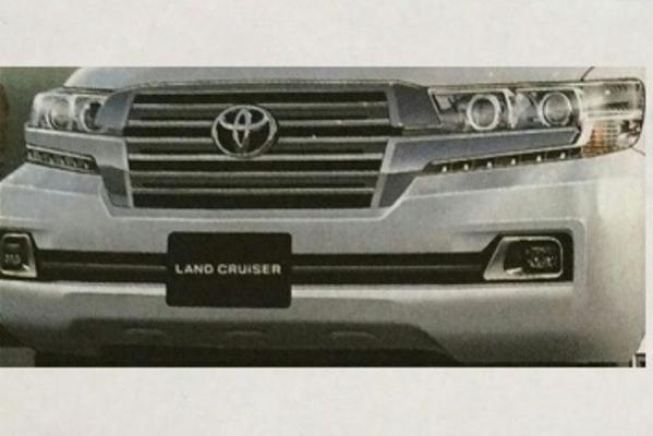 Facelift voor Toyota Land Cruiser