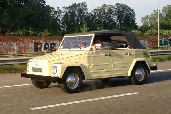 In het wild: Volkswagen 'Type 181'