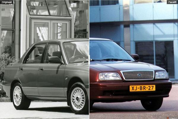 Facelift Friday: Daihatsu Applause