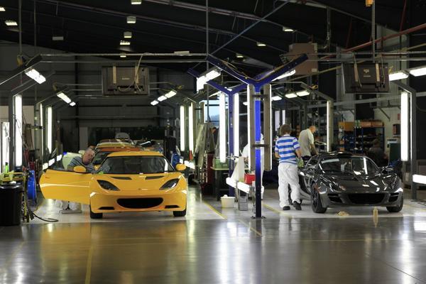 Lotus-productie in China niet uitgesloten