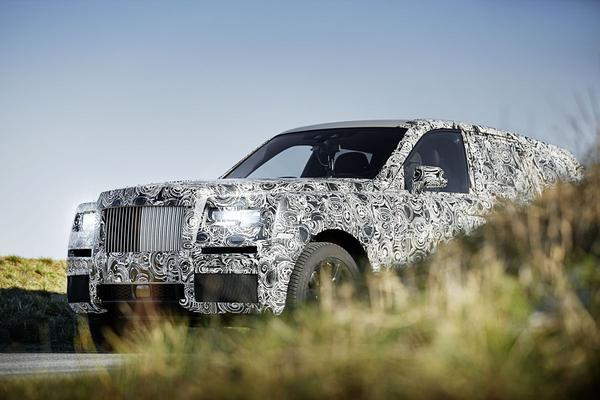 Rolls-Royce 'Project Cullinan' in beeld