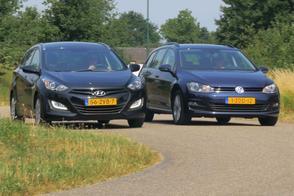 Hyundai i30 vs. Volkswagen Golf - Occasion dubbeltest