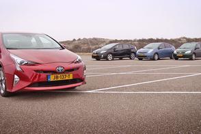 Toyota Prius familieportret