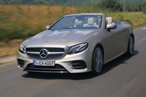 Mercedes-Benz E-klasse Cabriolet - Rij-impressie
