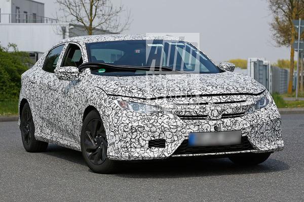 Spyshots: Honda Civic