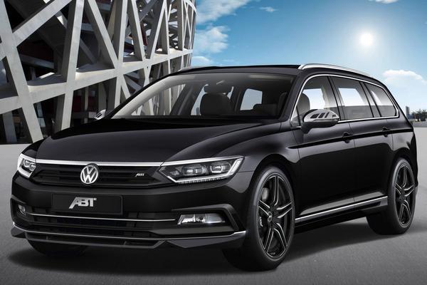 Abt voert nieuwe Volkswagen Passat op