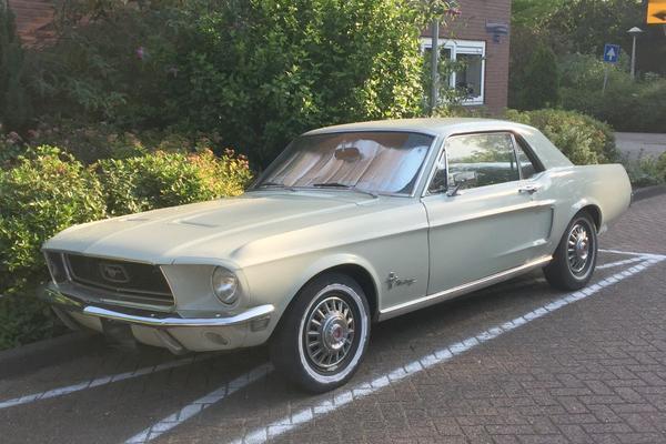 In het wild: Ford Mustang (1968)