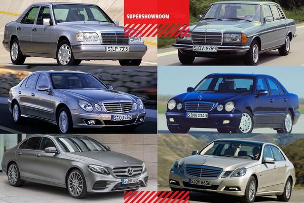 Supershowroom: Mercedes-Benz E-Klasse