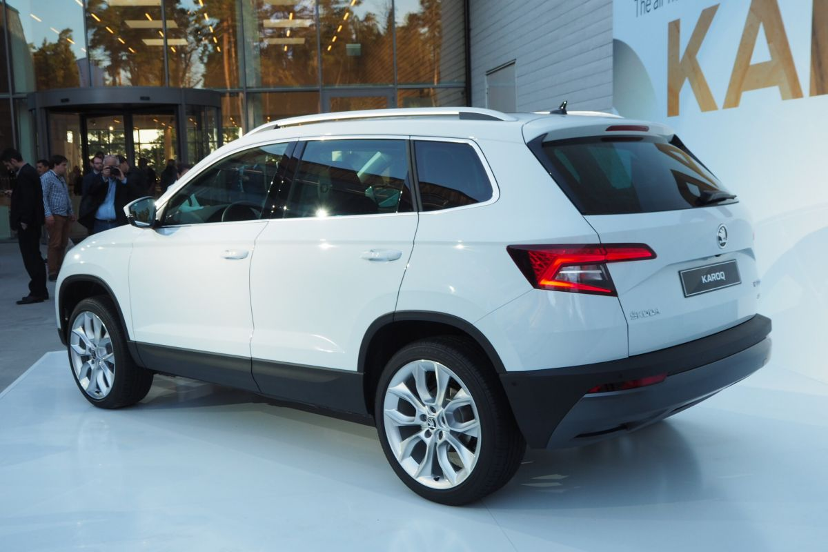 skoda karoq 2017 autoforum. Black Bedroom Furniture Sets. Home Design Ideas