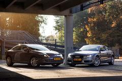 Occasion dubbeltest - Renault Laguna Coupé vs Audi A5