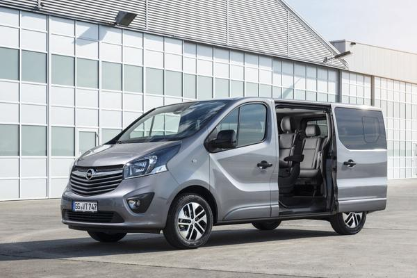Opel Vivaro nu als Tourer en Combi Innovation