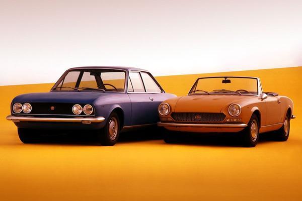 'Volgend jaar Fiat 124 Coupé'