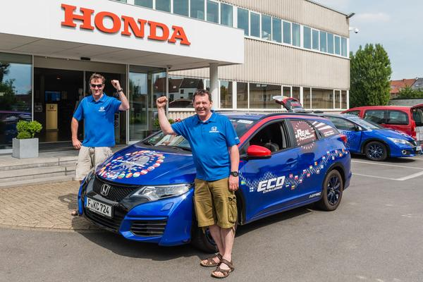 Honda Civic Tourer zet zuinig record
