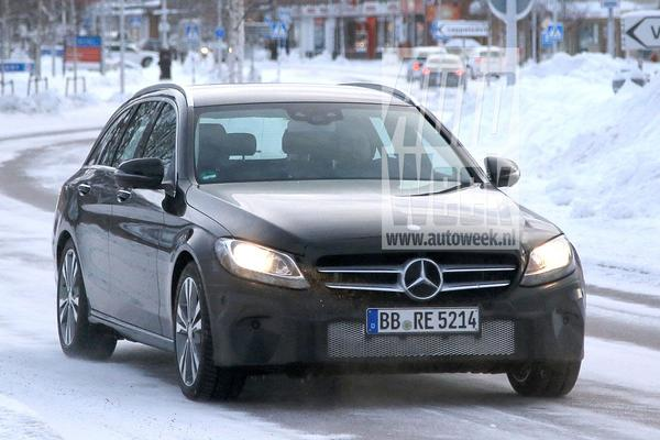 Gefacelifte Mercedes-Benz C-klasse weer gesnapt
