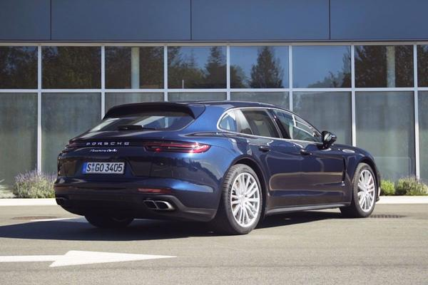 Video: Porsche Panamera Sport Turismo - Rij-impressie