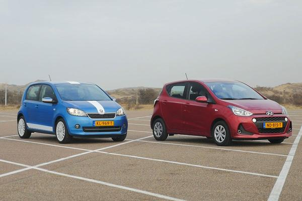 Video: Hyundai i10 vs. Skoda Citigo - Dubbeltest
