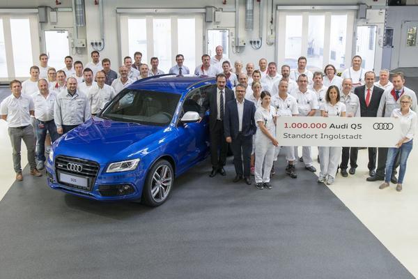 Miljoenste Audi Q5 uit Ingolstadt is een feit