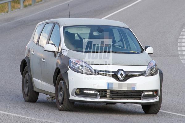 Testwerk nieuwe Renault Scénic begonnen