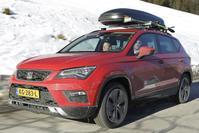 Seat Ateca 1.0 TSI volgepakt naar de Alpen