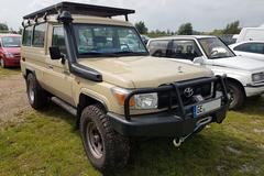 In het wild: Toyota Land Cruiser 70