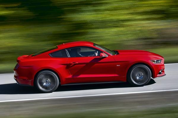 Mustang is snelst sprintende Europese Ford ooit