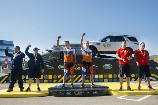 Nederland wint Driving Challenge Invictus Games