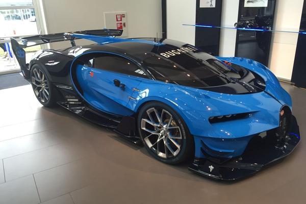 Video: Bugatti GT Vision in Nederland - AW Update