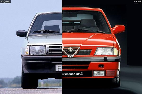 Facelift Friday: Alfa Romeo 33