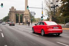 Audi A3 Limousine met Ampelassistent