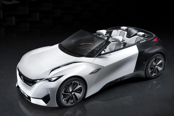 Peugeot onthult Fractal Concept nu zelf
