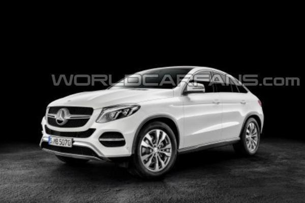 Gelekt: Mercedes GLE Coupé
