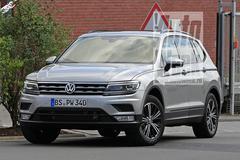 Ongecamoufleerd: Volkswagen Tiguan LWB