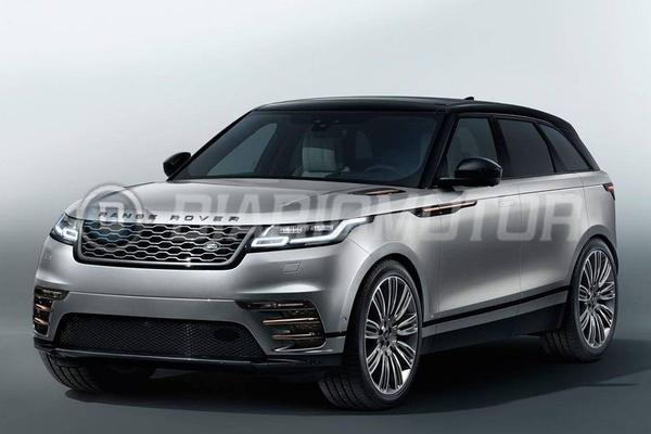 Range Rover Velar voortijdig in beeld