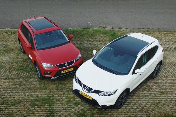 Video: Seat Ateca vs. Nissan Qashqai