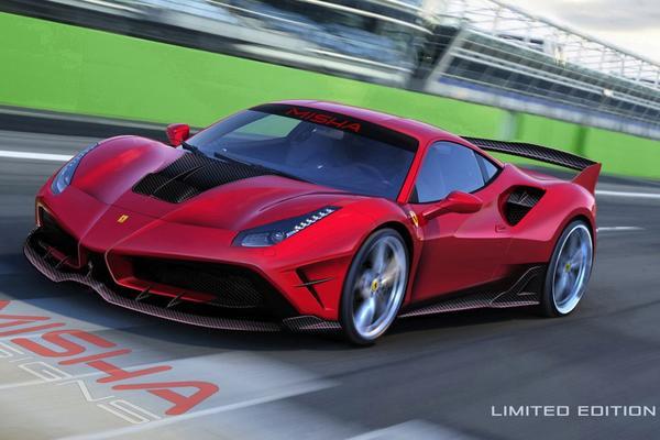 Misha Designs heeft genoeg van Ferrari 488 GTB