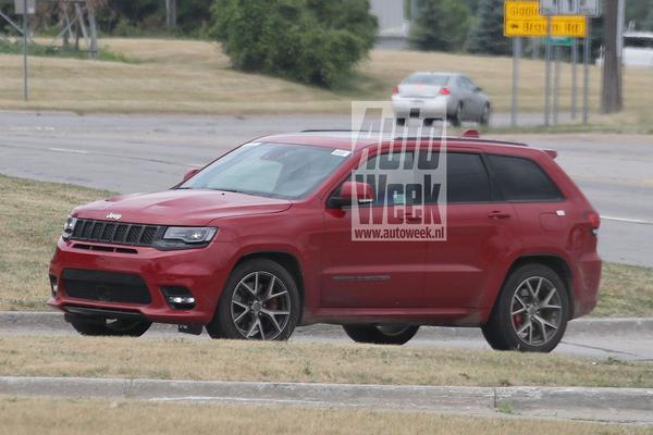 Gerucht: Jeep Grand Cherokee Trackhawk naar NYC