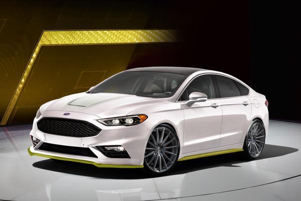 Ook Ford Fusion aangekleed voor SEMA Show