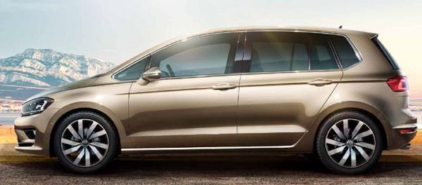 volkswagen golf sportsvan 1 2 tsi 110pk trendline 2014 gebruikerservaring autoreviews. Black Bedroom Furniture Sets. Home Design Ideas