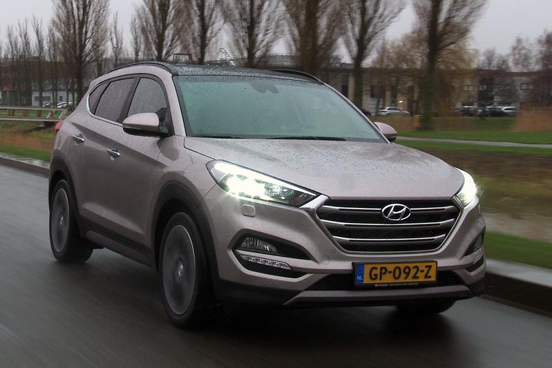 hyundai tucson als hybride en plug in autonieuws. Black Bedroom Furniture Sets. Home Design Ideas